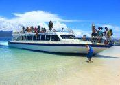 barco rapido a la islas gilis